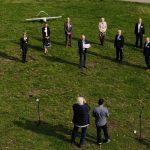 Jahresbericht der Hamburger Cluster kommt per Drohne