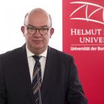 Universitätspräsident Prof. Dr. Klaus Beckmann über die Auswirkungen des zweiten bundesweiten Lockdowns an der HSU