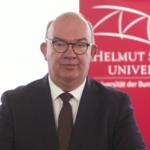 Universitätspräsident Prof. Dr. Klaus Beckmann über die Planungen für das Frühjahrstrimester