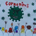 "Kinder-Kunst-Aktion ""Meine Familie und Corona"""
