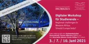Einladung zum digitalen Workshop für Studierende zum Thema Westafrika